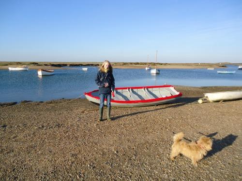 Burnham Overy Staithe boats
