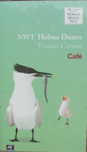 Norfolk Wildlife Trust Visitor Centre and cafe at Holme Dunes