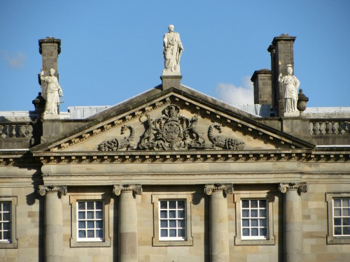 Exterior of Houghton Hall