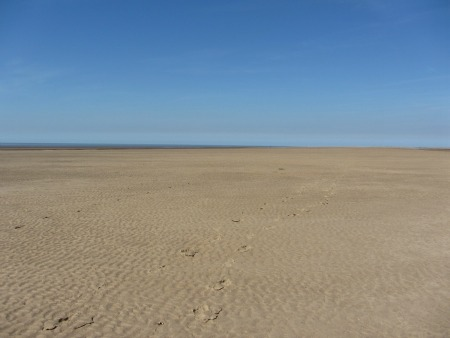 A beach in Norfolk