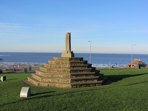 Hunstanton UK, the cross