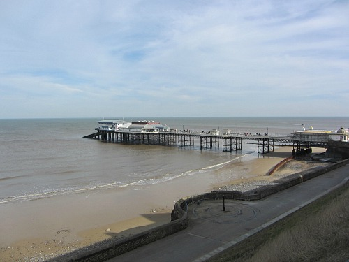 Cromer Pier on day 5 of the Norfolk Coast Path walk