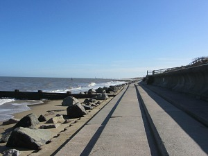 Sea Palling sea defences