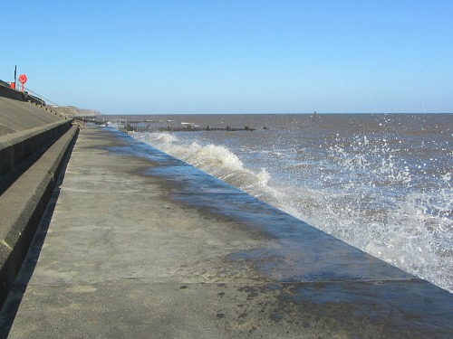 Bacton sea defences