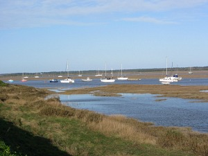 The Norfolk Coast Path at Wells-next-the-Sea