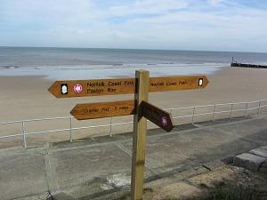 Norfolk Coast Path signposts