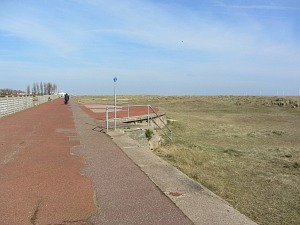 The promenade at Gt Yarmouth