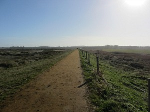 Lovely walks along the Norfolk Coast Path from the Lifeboat Inn, Thornham, North Norfolk