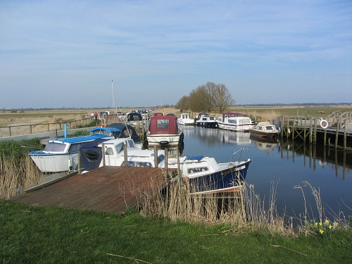 Many Staithes along the River Yare