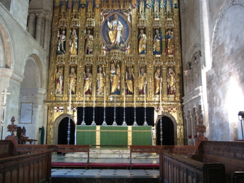 Wymondham Abbey reredos