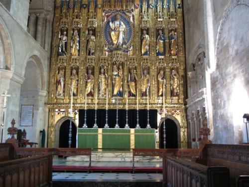 Wymondham Abbey reredos