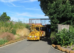 The Roadtrain around Banham Zoo