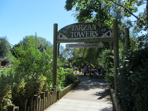 Tarzan Towers Adventure Playground at Banham Zoo
