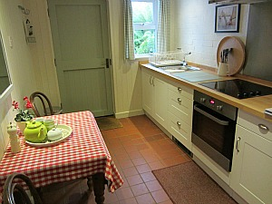 The kitchen in Martin's Nest, Norfolk