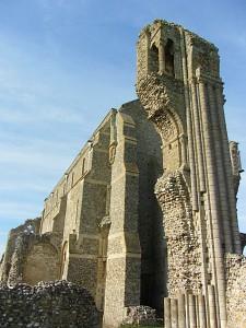 Binham Priory's amazing ruins