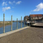 Walking into the flintstone village of Blakeney