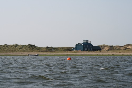 Old Lifeboat house at Blakeney Point