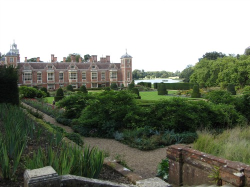View of the lake from Blickling Hall gardens