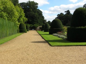 Topiary at Blickling Hall