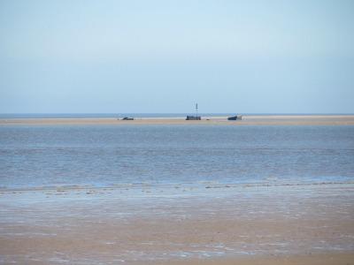 Brancsater beach shipwreck