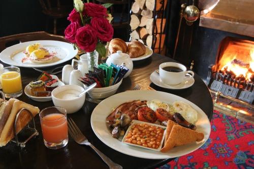 The Lobster Inn breakfast