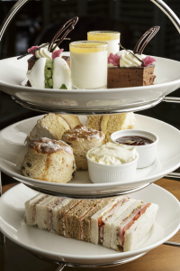 Tea, cake and scones at Briarfields Hotel, Titchwell