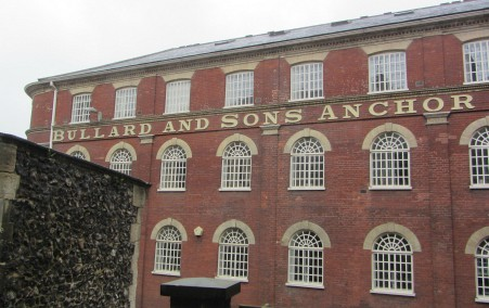 The old brewery building of Bullard and Sons
