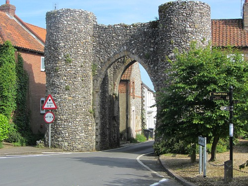 Castle Acre Village And The 11th Century Ruins