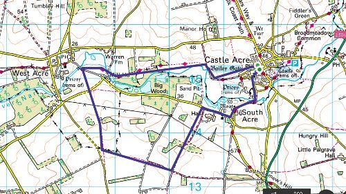 Castle Acre Circular Walk