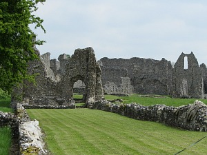 Castle Acre Priory surrounds