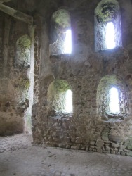 Arrow Slits in the Castle at Castle Rising