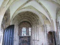 Castle Rising medieval rooms