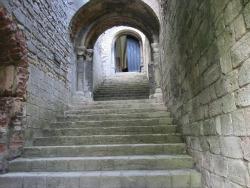 Caslte Rising interior steps