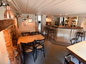 One of the bar areas at The Chequers Inn