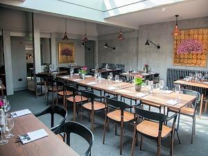 The restaurant at The Chequers Inn, Thornham