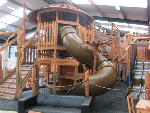 The Over 5's indoor play area at Church Farm