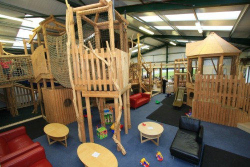 The Under 5's play area