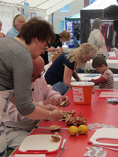 Crab and Lobster Festival held at Sheringham and Cromer