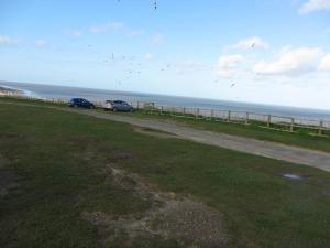 Cromer beach cliff top car park