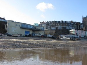 Cromer beach RNLI museum and cafe