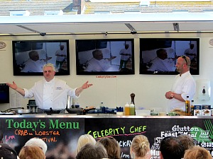 Entertaining cookery demonstrations