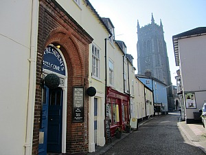 Cromer and the imposing church tower