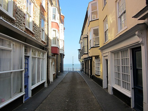 Jetty Street in Cromer