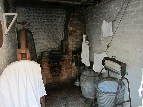 The washroom at Cromer Museum