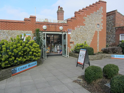Cromer Museum entrance