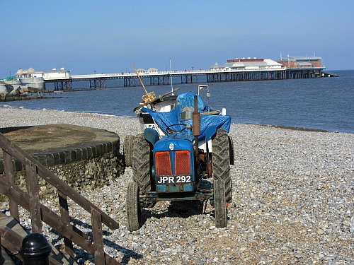 A typical sight at Cromer