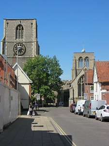 The Bell Tower in Dereham UK