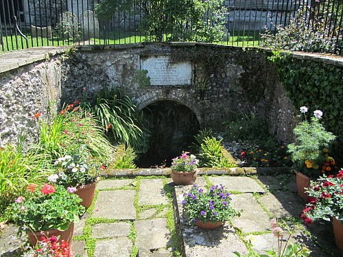 The Well at St Nicholas Church Dereham