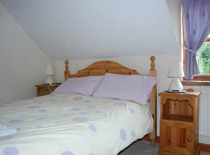 The double room at Kingsley Cottage, Hickling Green