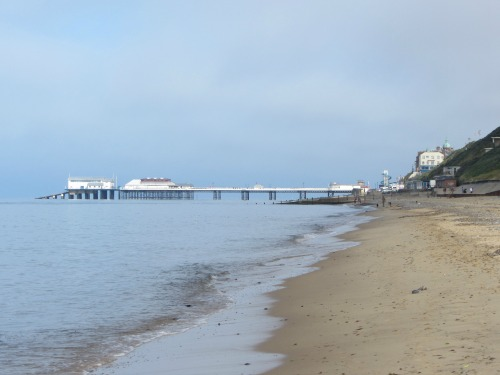 Cromer Pier from East Runton beach